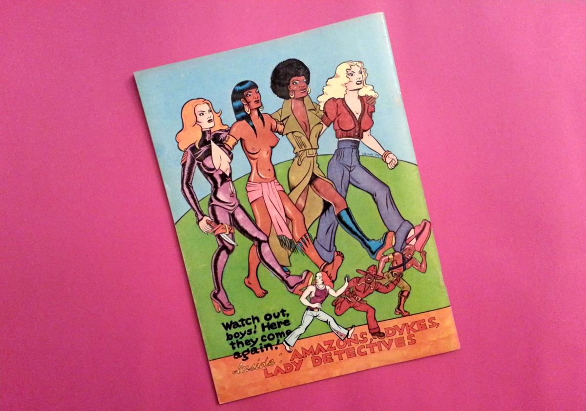 fight girl comics 2