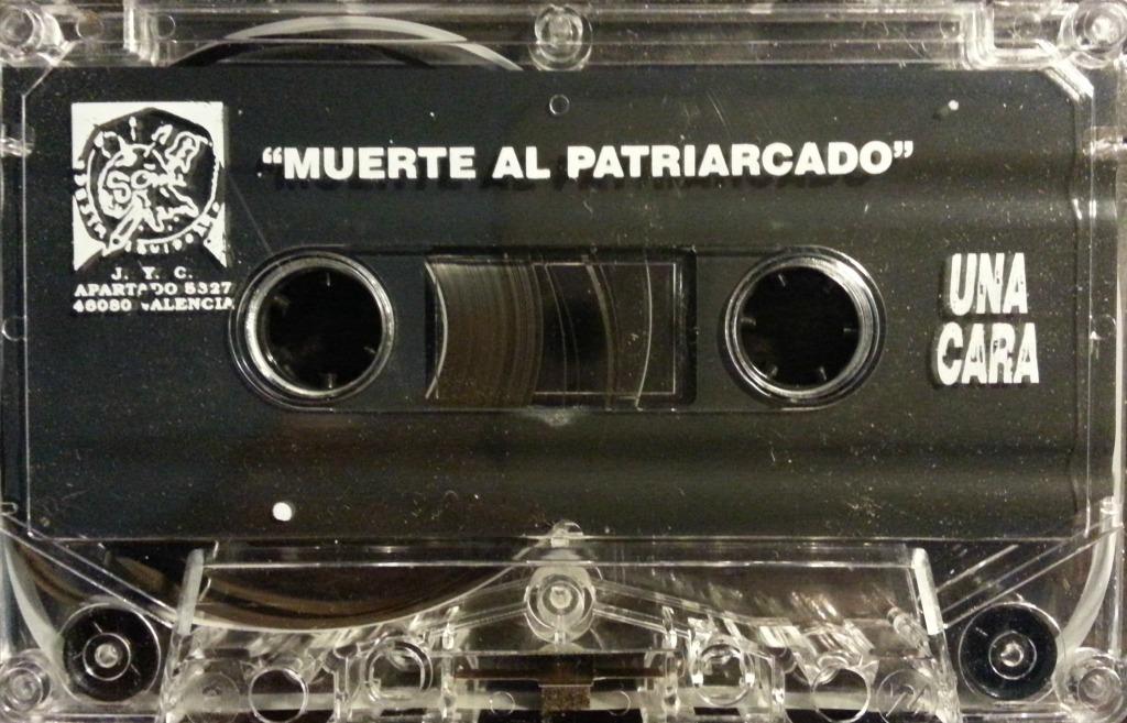 muerte al patriarcado cinta punk cassette