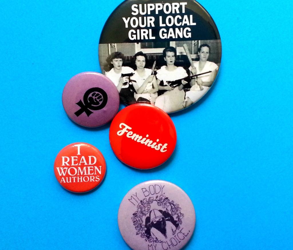 feminist badges buttons pin chapas feministas